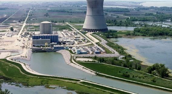 АЭС Дэвис Бесс. США. Фото