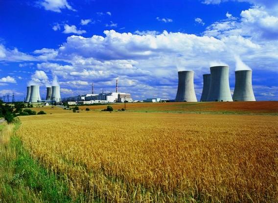 АЭС Дукованы Чехия. Фото