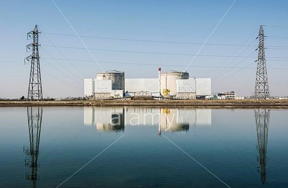 АЭС Фессенхайм. Франция. Фото