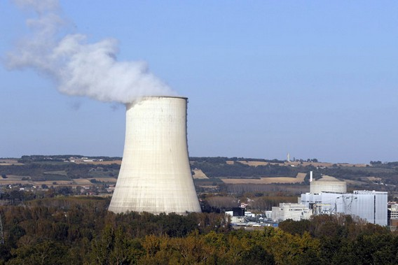 АЭС Гольвеш. франция. Фото
