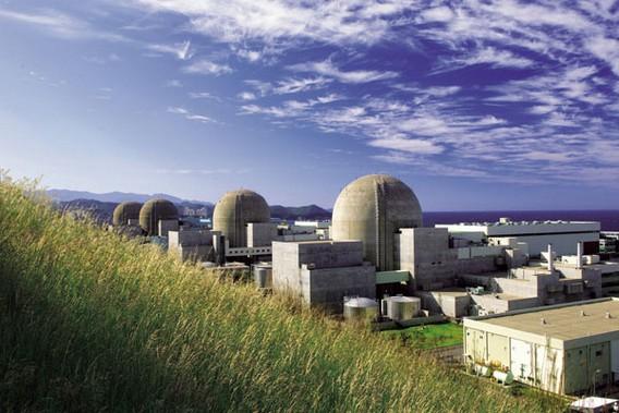 АЭС Ульчин (Ханул ) Южная Корея. Фото