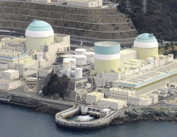 АЭС Иката. Япония. Остров Сикоку. Фото