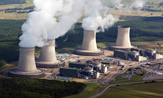 АЭС Катеном. Франция. Фото