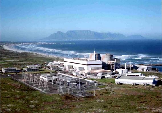 АЭС Коберг ЮАР Африка. Фото