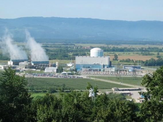 АЭС Кршко в Словении. Фото