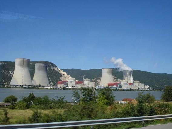 АЭС Круа. Франция. Фото