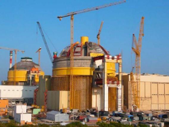 Строящаяся Россией АЭС Куданкулам Индия. Фото
