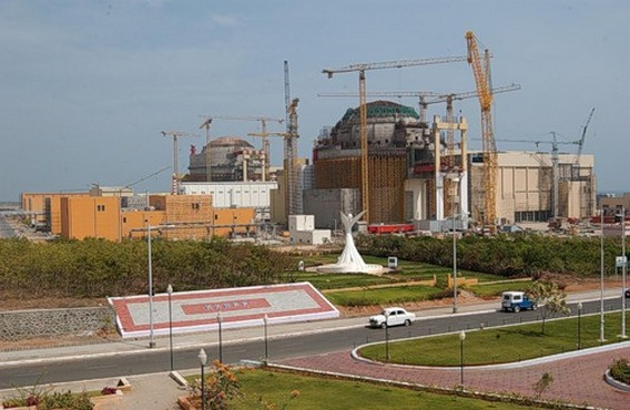 АЭС Куданкулам Строительство. Фото