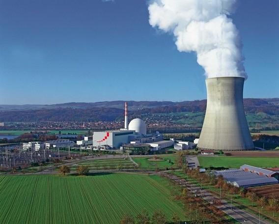 АЭС Лейбштадт Швейцария. Фото