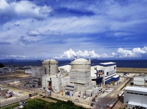 АЭС Ling Ao Китай. Фото