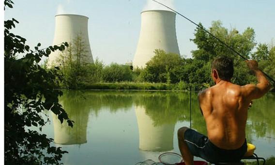 АЭС Ножан-сюр-Сен. Франция. Фото