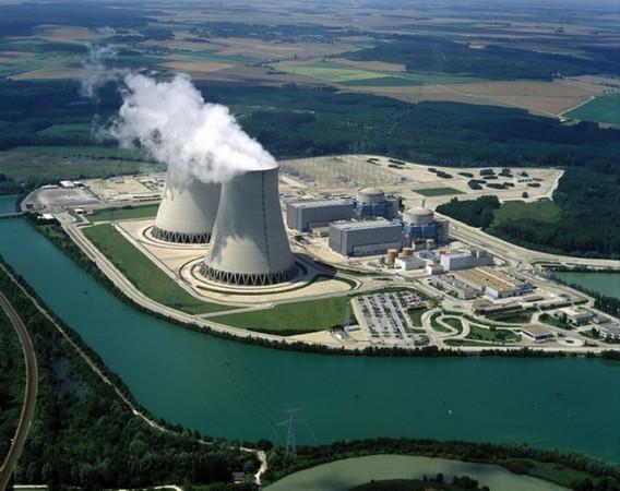 АЭС Ножан. Франция. Фото
