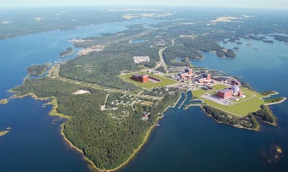 АЭС Олкилуото Финляндия. Фото