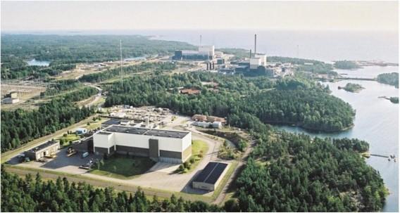 АЭС Оскархамн. Швеция. Фото