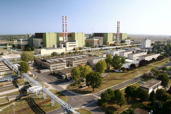 АЭС Пакш Венгрия. Фото