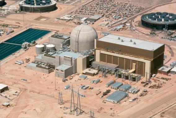 АЭС Пело-Верде. Аризона. США. Фото