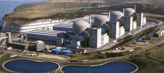 АЭС Палюэль Франция. Фото