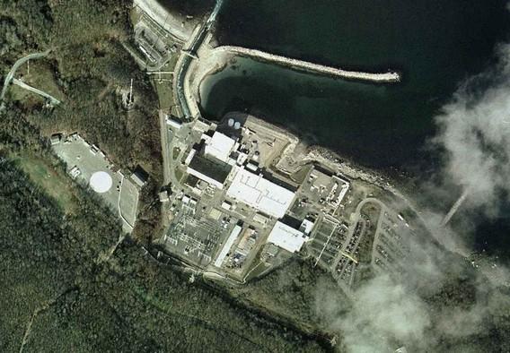 АЭС Пилигрим. США. Фото Сверху