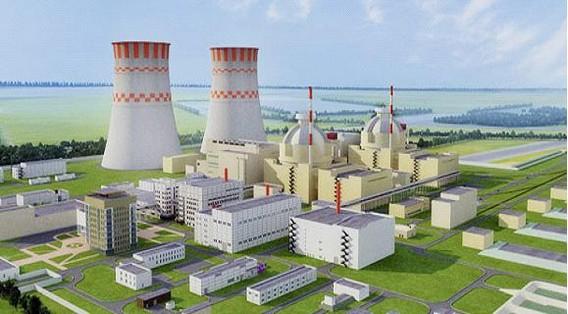 АЭС Руппур. Бангладеш. Фото макета