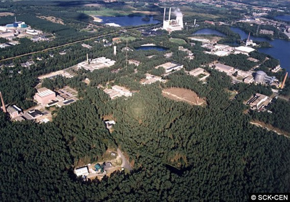 АЭС SCK CEN Бельгия. Фото