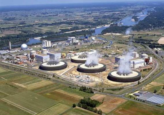 АЭС Шинон. Франция. Фото