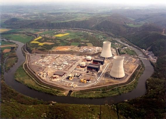 АЭС Шо - Chooz. Франция. Фото