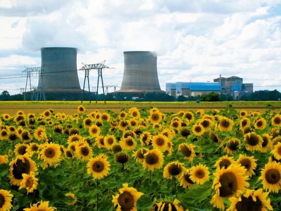 АЭС Сен-Лоран. Франция. Фото