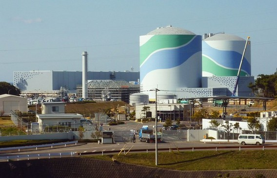 АЭС Сэндай Япония. Фото