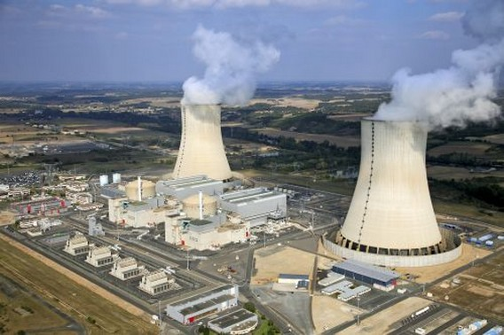 АЭС Сиво. Франция. Фото