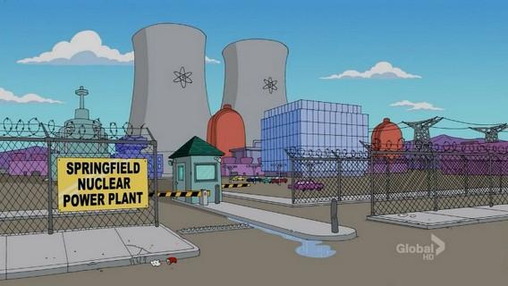 АЭС Спрингфилд. Симпсоны. Фото