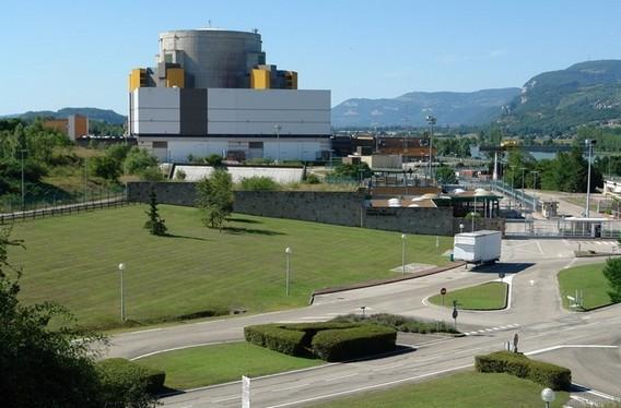 АЭС СуперФеникс. Франция. Фото