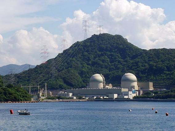 АЭС Такахама. Япония. Фото