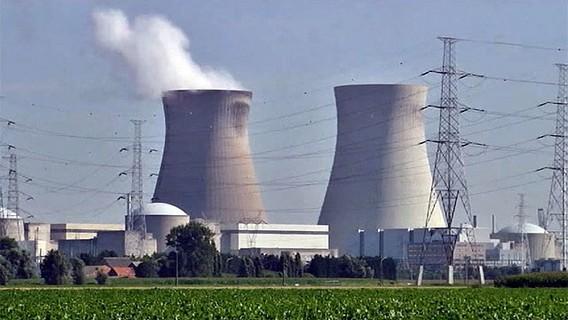 АЭС Тианж Бельгия. Фото