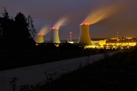 АЭС Тианж. Бельгия. Фото