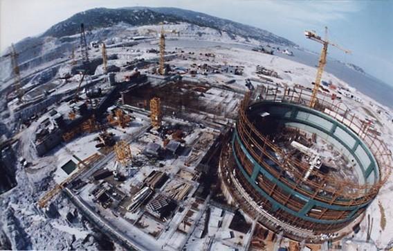 АЭС Тяньвань.  Строительство