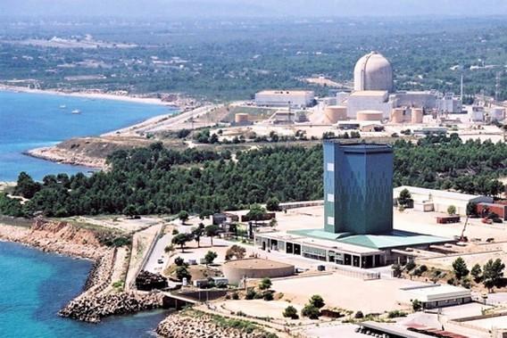 АЭС Вандельос первый и второй реакторы. Фото
