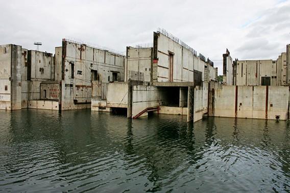 АЭС Жарновец Польша. Наши дни. Фото