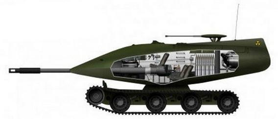 Атомный танк Крайслер