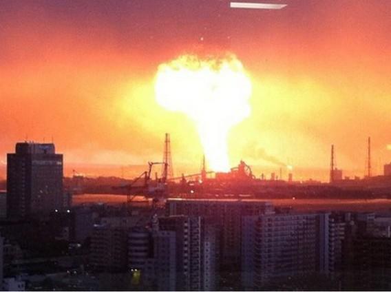 Авария на АЭС Онагава Япония. Фото