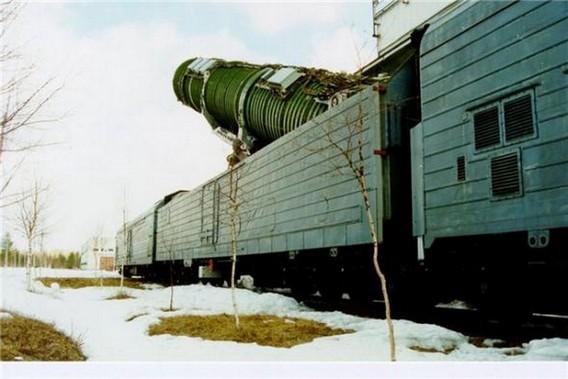 БЖРК. Музейный экспонат