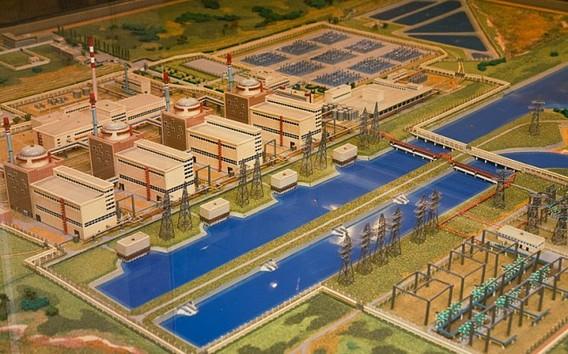 Балаковская АЭС схема