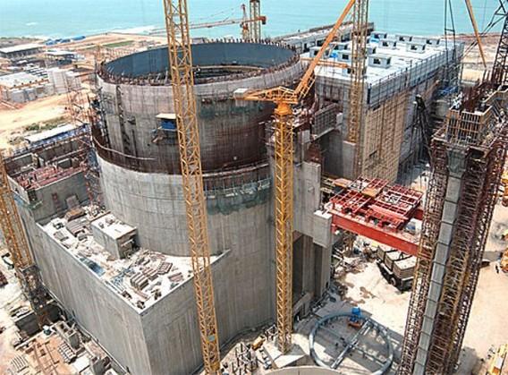Балтийская АЭС фото строительство