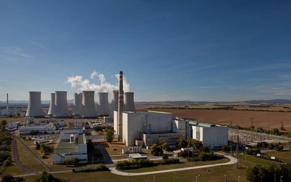 Богунице первая АЭС Словакии. Фото