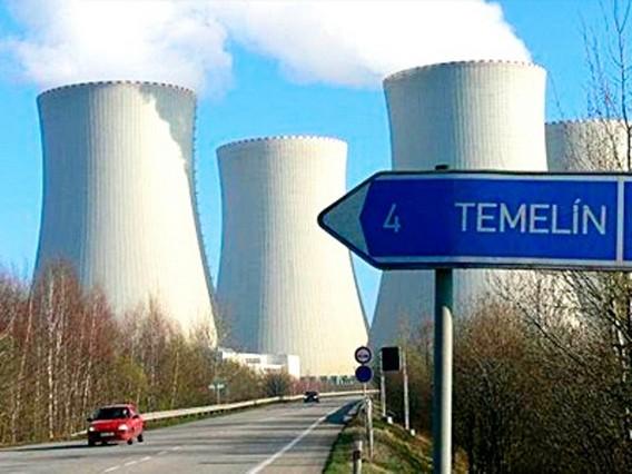 Чехия АЭС Темелин