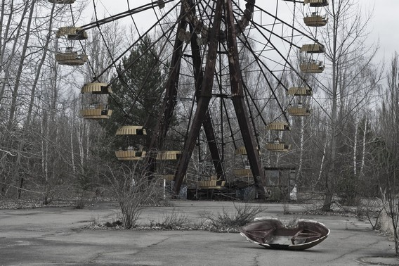 Чернобыль колесо обозрения