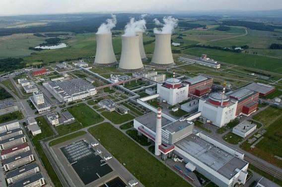 Чешская АЭС Темелин фото