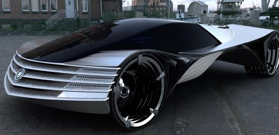 Cadillac WTF - первый ядерный автомобиль