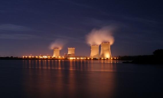 Cattenom - французская АЭС в Лотарингии