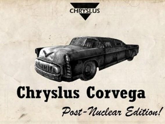 Chryslus corvega Fallout - ядерный автомобиль в игре
