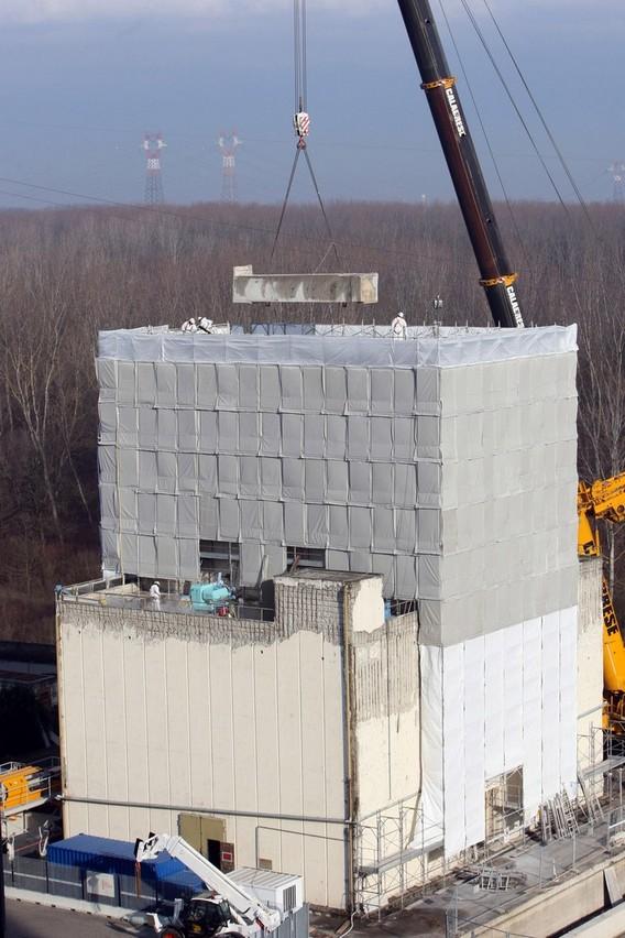 Демонтаж АЭС Каорсо. Италия
